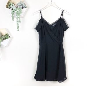 Lulu's Dresses - Absolutely Unforgettable  Off-the-Shoulder Dress